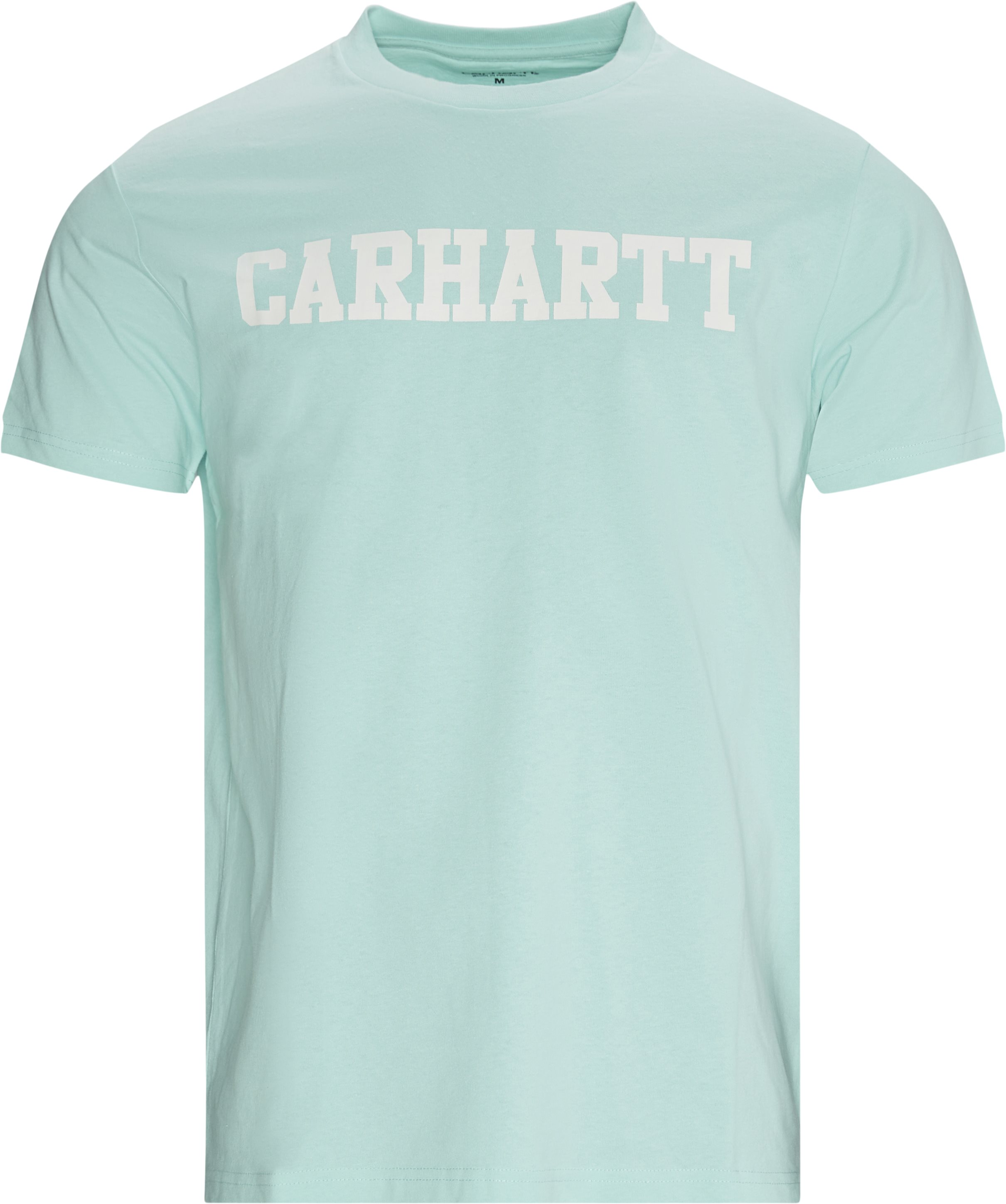 College Tee - T-shirts - Regular fit - Blue